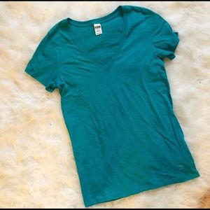 Size large Blue/Green tee from VS PINK